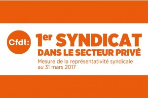CFDT 1er syndicat
